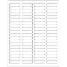 1 Pack (100 Sheets/Pack) 1-3/4