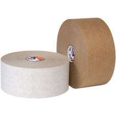 Shurtape WP 100 Economy Grade Water Activated Reinforced Paper 10 Rolls/Case 72mm X 450' Gum Tape (CENTRAL 240) WP100-72X450