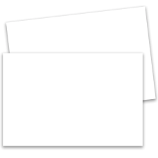 "1 Pack: Randolph Menu Paper 8.5"" x 14"" 10 mil White Synthetic Cut Sheets (200 Sheets/Pack) SYN200"