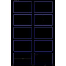 1 Carton: 100 Sheets/Carton HP Indigo Labels 60# High Gloss 5