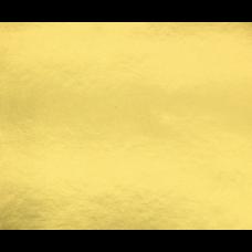 1 Carton: 100 Sheets/Carton Bright Gold Foil Pressure Sensitive Sheets 26
