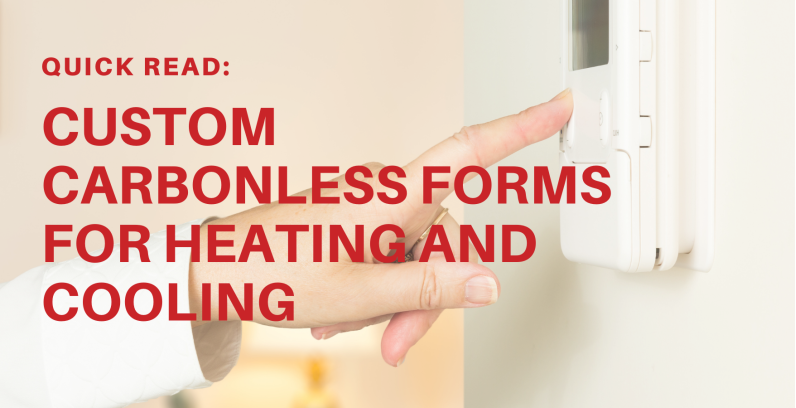 Quick Read: Custom Carbonless Forms For Heating and Cooling