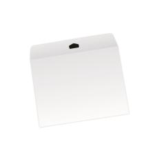 Papercone Flat Envelopes 1004PL White Kraft 10 x 13 Flaps Folded, Open End, Sub 28 500/Carton