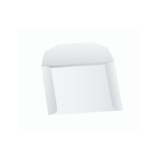 Papercone Zip Stick® Document Envelopes 0525PL White Kraft 10 x 13 Open Side Seams, Flaps Folded, Sub 40 250/Carton