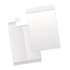 Papercone FIBERCRAFT® Zip Stick® Flat Envelopes 3110PL 6 x 9 Flaps Folded, Sub 26 500/Carton