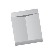 Papercone Jumbo Envelopes 0429PL Gray Kraft 13 x 17 Flaps Extended, Open End, Sub 28 250/Carton