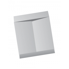 Papercone Jumbo Envelopes 0429PL Gray Kraft 13 x 17 Flaps Extended, Open End, Sub 28 250/Carton