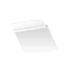 Papercone HERCULINK® Zip Stick® Expansion Envelopes 4225PL 10 x 13 x 2 V-Bottom, Flaps Folded, Open Side, Sub 26 250/Carton