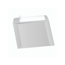 Papercone Zip Stick® Document Envelopes 0521PL Gray Kraft 10 x 13 Open Side Seams, Flaps Folded, Sub 40 250/Carton