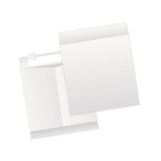 Papercone TYVEK® Jumbo Envelopes 1130PL White 15 x 20 Flaps Folded, Open End, Sub 18 250/Carton
