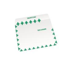 Papercone TYVEK® Zip Stick® Flat Envelopes 1501FC 6 x 11 3/8 Inside Side Seams, Flaps Folded, Open Side, Sub 14 500/Carton