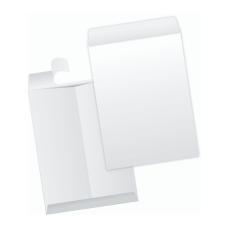 Papercone TYVEK® Zip Stick® Flat Envelopes 1103PL White 6 x 9 Flaps Folded, Open End, Sub 14 500/Carton