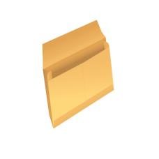 Papercone Expansion Envelopes 0172PL Brown Kraft 10 x 12 x 3 Regular Gum, V-Bottom, Flaps Extended, Open Side, Sub 40 250/Carton