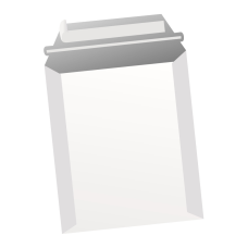 Papercone Zip Stick® Straight Jacket Board Mailers 4507PL 6 x 8 24 pt Open Side Seams, Flaps Extended, 100/Carton