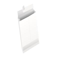 Papercone HERCULINK® Zip Stick® Expansion Envelopes 4201PL 10 x 13 x 1 ½ V-Bottom, Flaps Folded, Open End, Sub 26 250/Carton