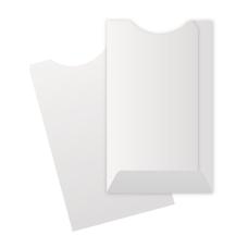 Papercone TYVEK® Credit Card Envelopes 1801PL 2¼ x 3½ Cut Flush w/ Double Thumb Cut Open End, Sub 14 500/Box 5M/Carton