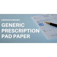Generic Prescription Pad Paper