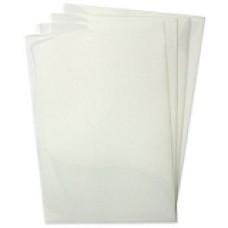 1 Box: 100/Box Copier/Laser Transparency Film Clear High-Temperature No Strip 8-1/2