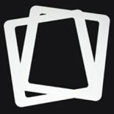 1 Box: 50/Box Transparency Cardboard Frames TIF
