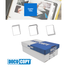 DocuCopy 3231 90# Multi-Colored Trilar™ (Red, Yellow, Green, Blue, Gray) Reverse Collated Index 5 Cut Digital 1250 Tabs/Carton 250 Sets/Carton