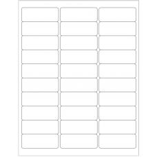 1 Pack (100 Sheets/Pack) Wausau Coated Die Cut Labels 2-5/8