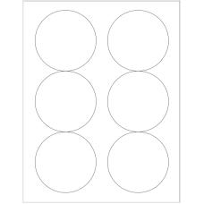1 Pack (100 Sheets/Pack) Wausau Coated Die Cut Labels 3-1/3